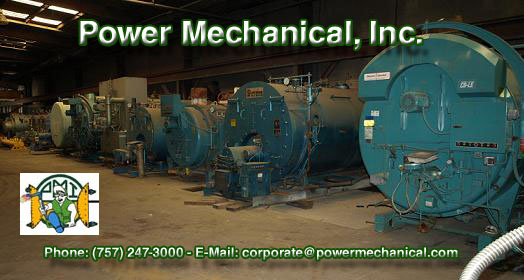600 hp, Cleaver-Brooks, 150 lb/pulg², 1975, 3 disponibles