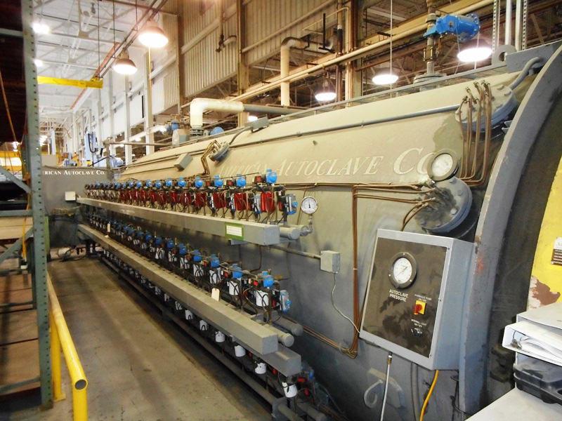 "7'8"" x 4' American Autoclave Co AA9.5/25RE450-10,100 lb/pulg²,450°F, eléctrica, 1998"